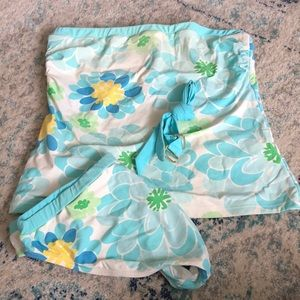 Lilly Pulitzer floral tankini